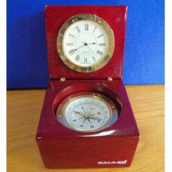 Set laqueado con brujula y reloj santa fe